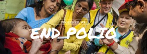 Together We End Polio_vaccination group India